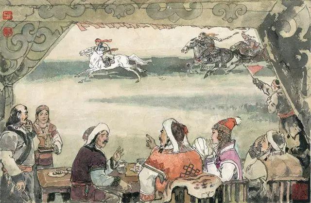 《马头琴的故事》李永志 李德兰/ 编绘 第32张