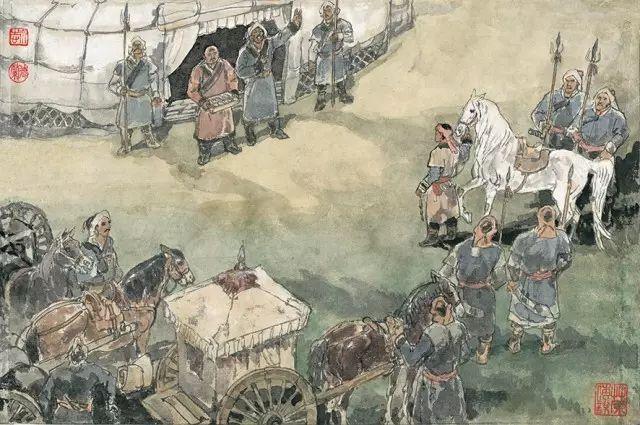 《马头琴的故事》李永志 李德兰/ 编绘 第35张