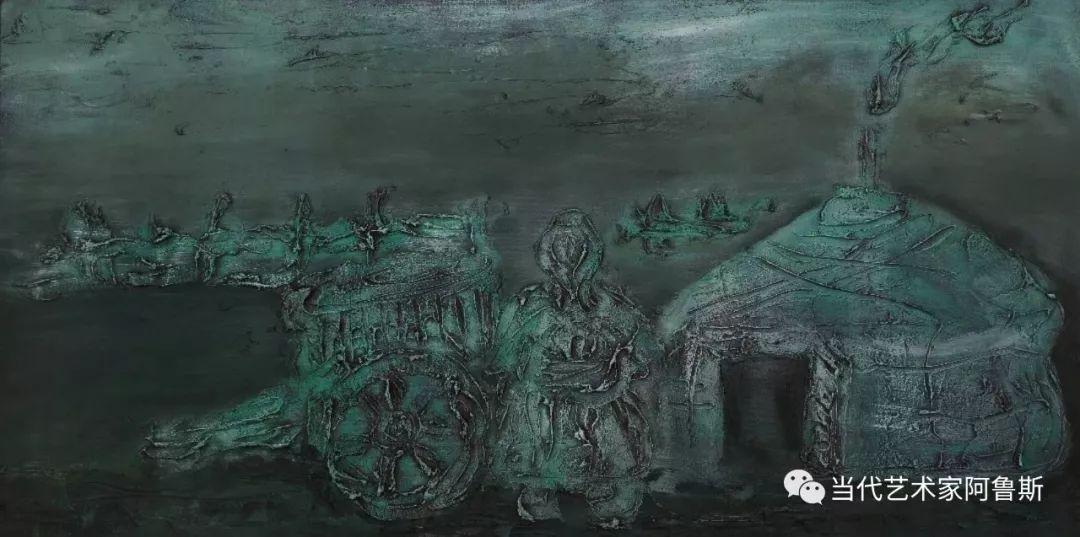 中国当代艺术名家阿鲁斯先生获得2018年世界华人功勋艺术家称号 第6张