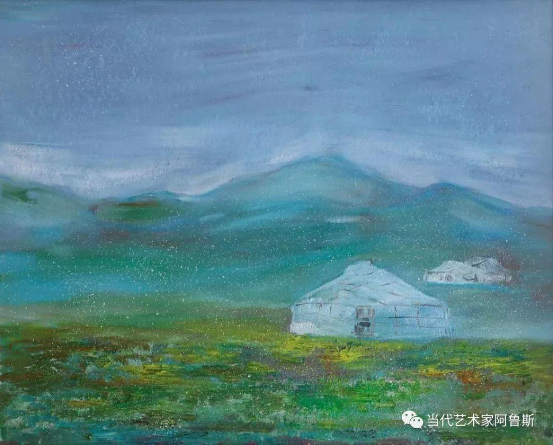 中国当代艺术名家阿鲁斯先生获得2018年世界华人功勋艺术家称号 第10张