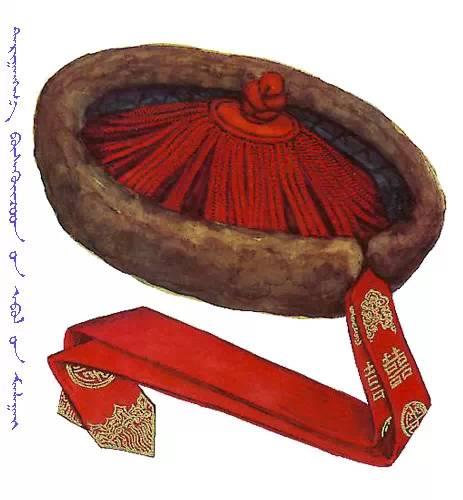 【蒙古服饰】传统帽子图案 第4张