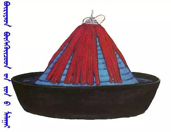 【蒙古服饰】传统帽子图案 第11张