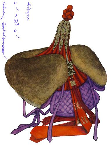 【蒙古服饰】传统帽子图案 第7张