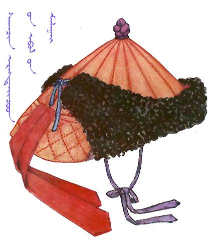 【蒙古服饰】传统帽子图案 第10张