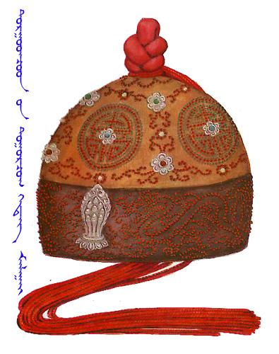【蒙古服饰】传统帽子图案 第12张