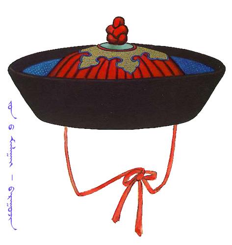 【蒙古服饰】传统帽子图案 第14张
