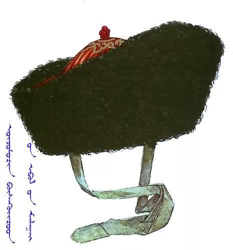 【蒙古服饰】传统帽子图案 第20张