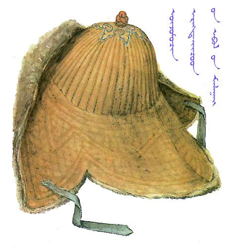 【蒙古服饰】传统帽子图案 第17张