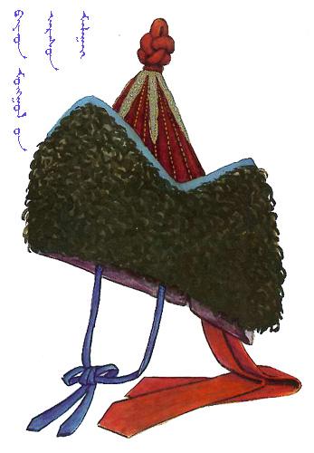 【蒙古服饰】传统帽子图案 第19张
