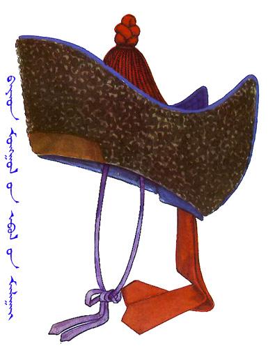 【蒙古服饰】传统帽子图案 第25张