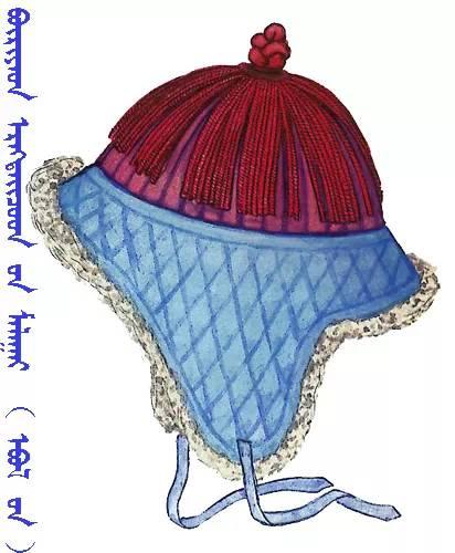 【蒙古服饰】传统帽子图案 第29张