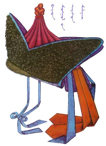 【蒙古服饰】传统帽子图案 第27张