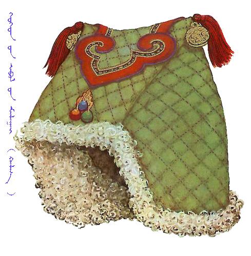 【蒙古服饰】传统帽子图案 第26张