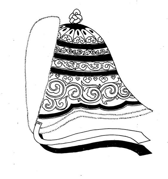 【蒙古服饰】传统帽子图案 第30张