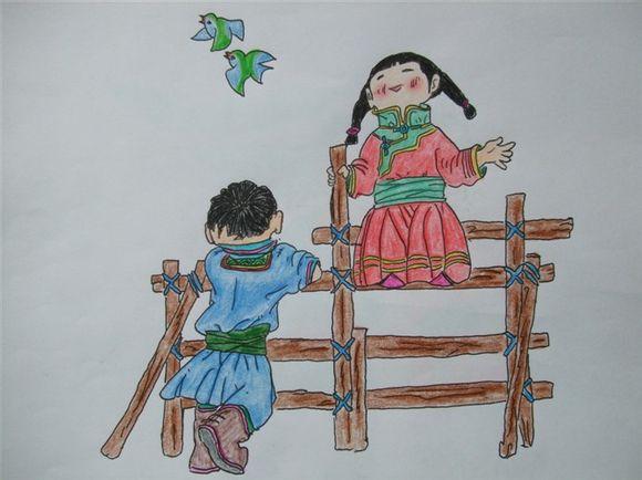 带你回忆童年【彩铅临摹的画】 第18张