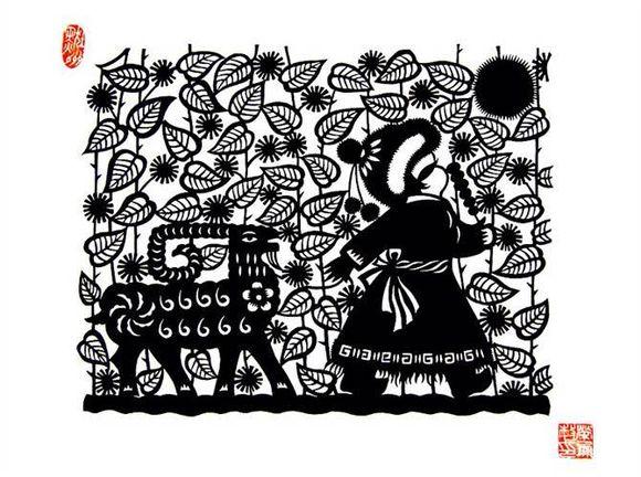 【蒙古族剪纸艺术】 第2张