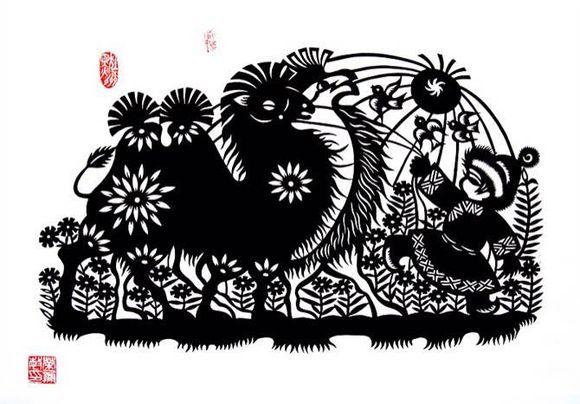 【蒙古族剪纸艺术】 第3张