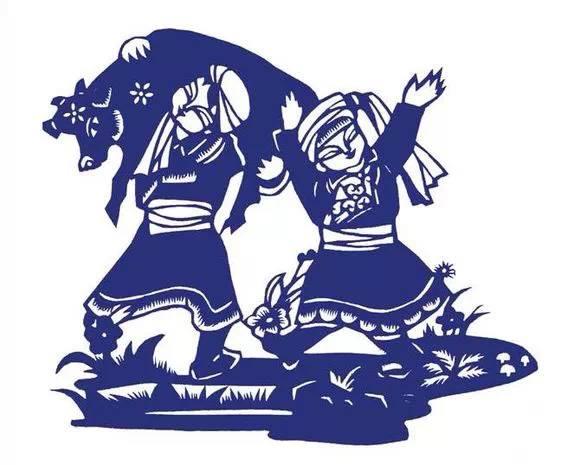 【蒙古族剪纸艺术】_蒙古画廊_蒙古元素