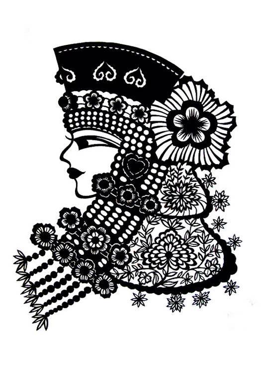 【蒙古族剪纸艺术】 第10张