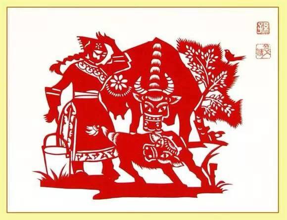 【蒙古族剪纸艺术】 第8张