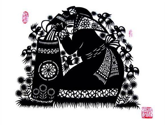 【蒙古族剪纸艺术】 第19张