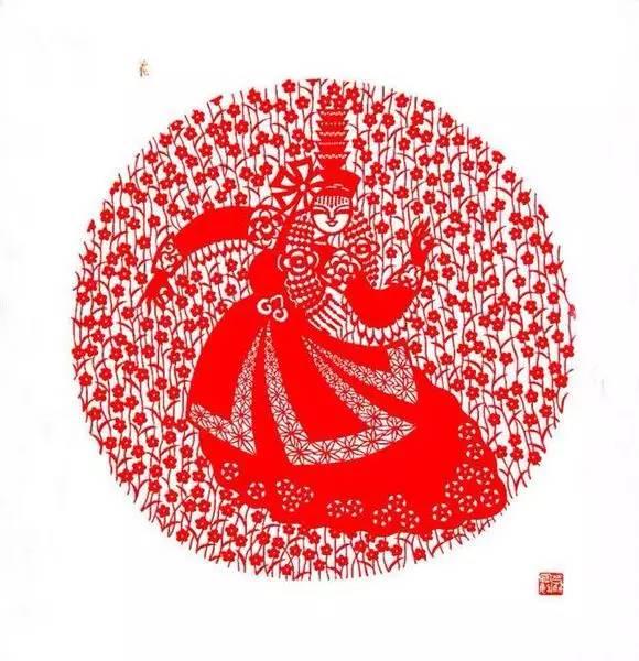 【蒙古族剪纸艺术】 第16张