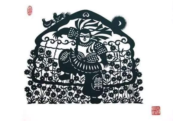 【蒙古族剪纸艺术】 第20张