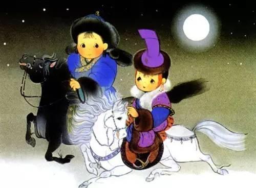 蒙古卡通图片 给孩子收藏 第3张