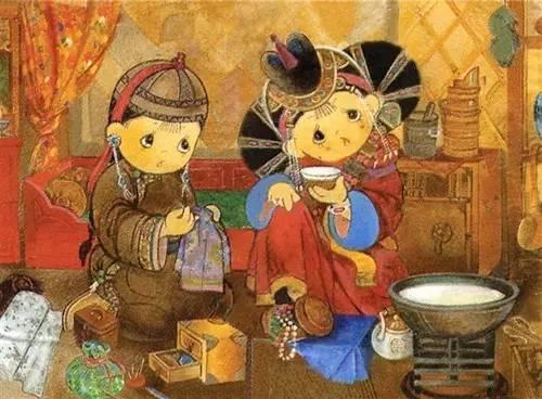 蒙古卡通图片 给孩子收藏 第4张