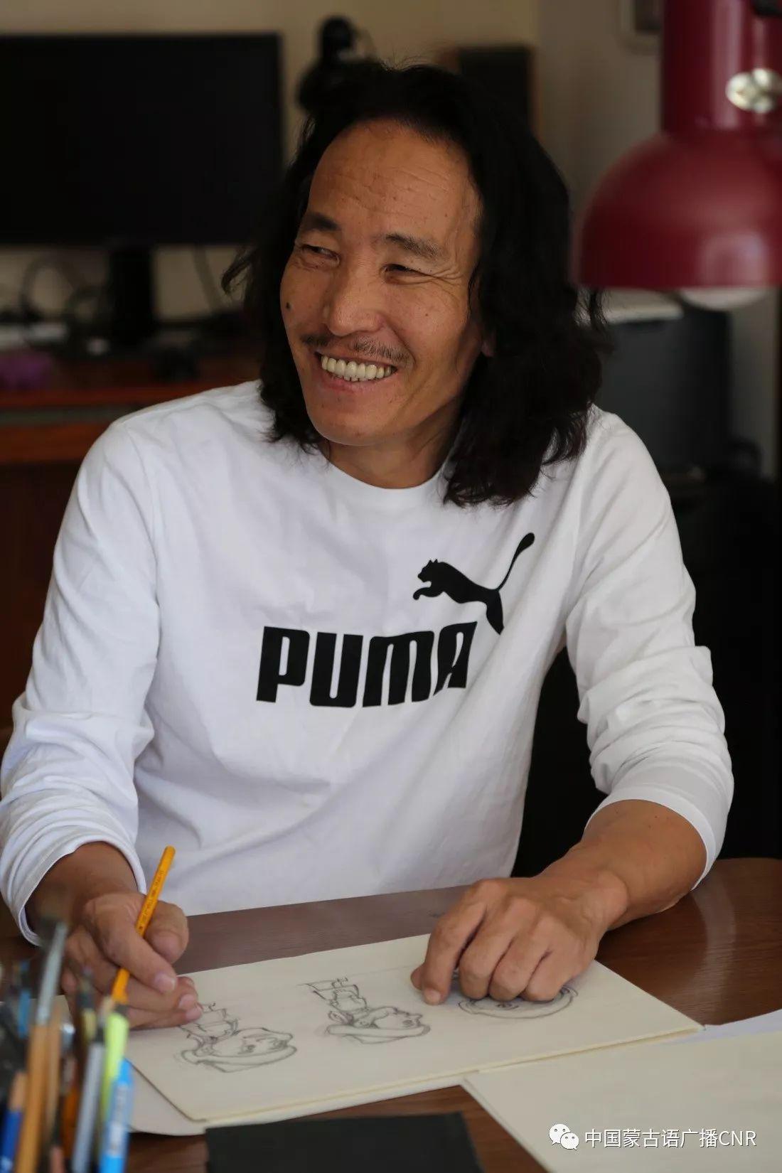蒙古族漫画家巴•毕力格的漫画新作 第2张
