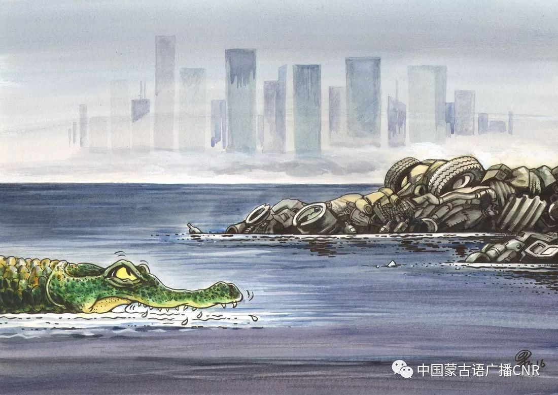 蒙古族漫画家巴•毕力格的漫画新作 第33张