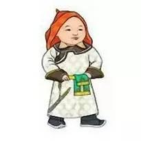超可爱蒙古风卡通人物  第3张
