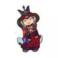 超可爱蒙古风卡通人物  第6张