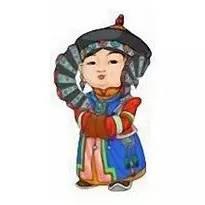 超可爱蒙古风卡通人物  第7张