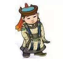超可爱蒙古风卡通人物  第20张