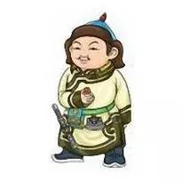 超可爱蒙古风卡通人物  第15张