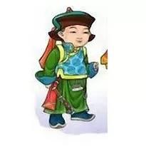 超可爱蒙古风卡通人物  第19张
