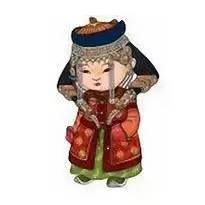 超可爱蒙古风卡通人物  第21张