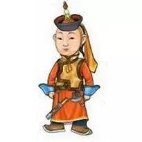 超可爱蒙古风卡通人物  第26张