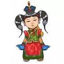 超可爱蒙古风卡通人物  第27张