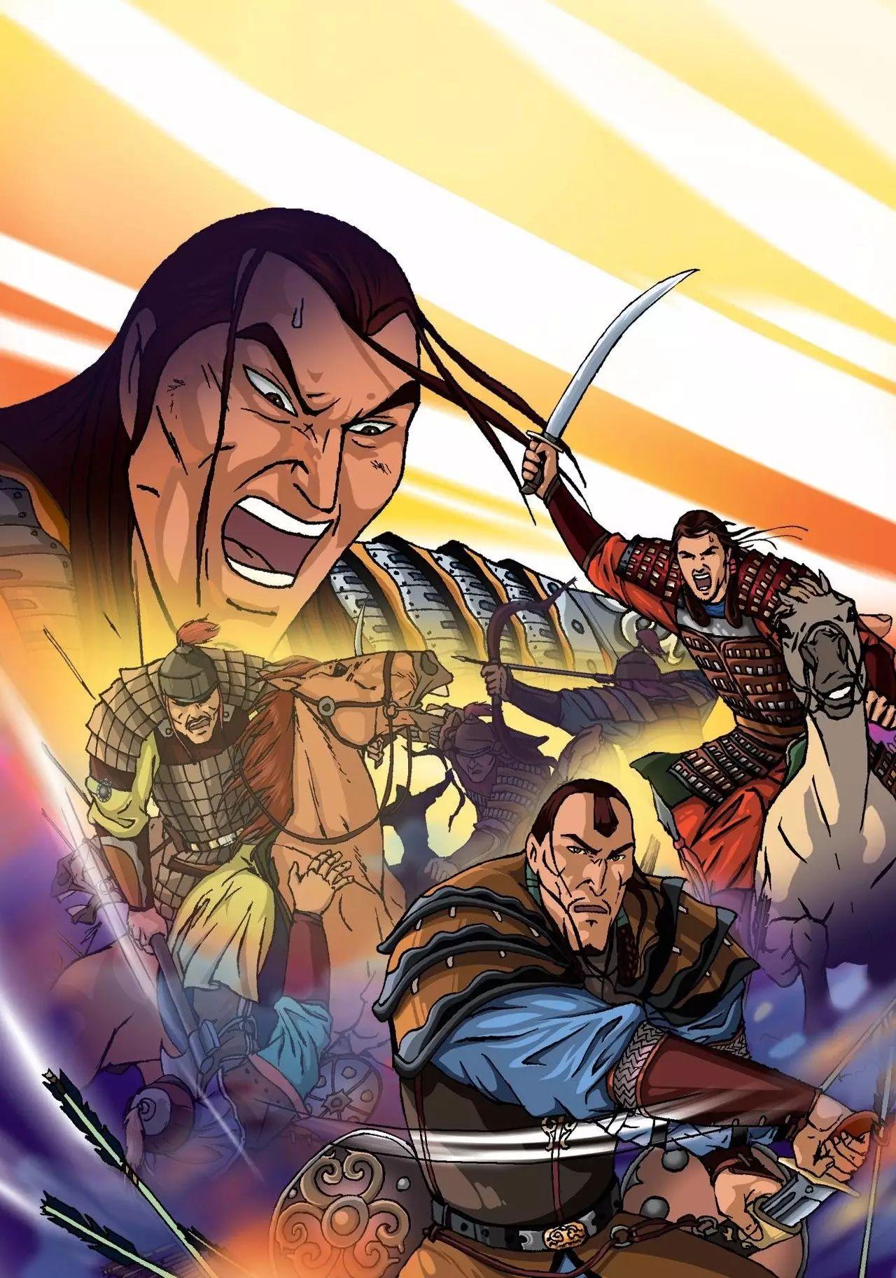 画《成吉思汗》的蒙古国卡通绘本漫画家 第3张