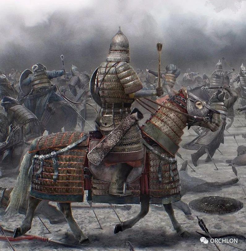 CG原画作品|蒙古军的战场 第3张