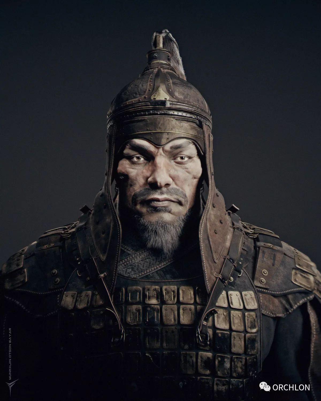 蒙古骑士盔甲3D模型|MONGOLIAN KNIGHT 第2张
