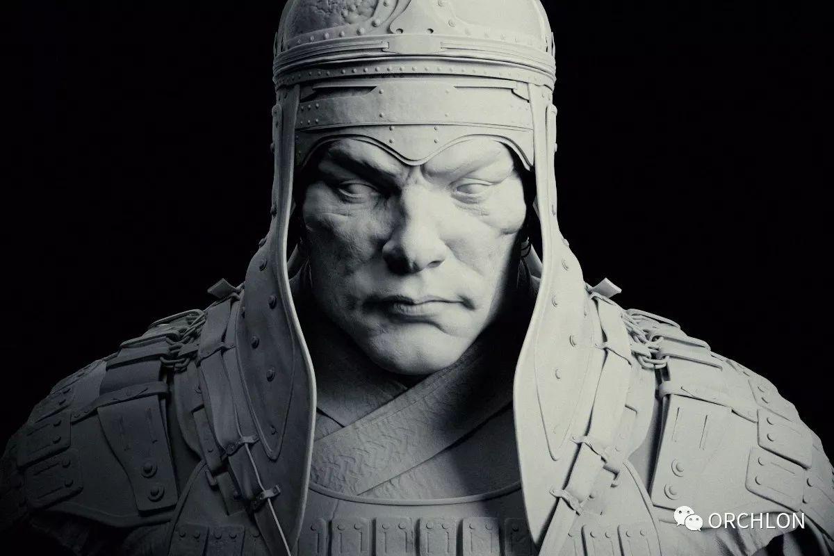 蒙古骑士盔甲3D模型|MONGOLIAN KNIGHT 第9张