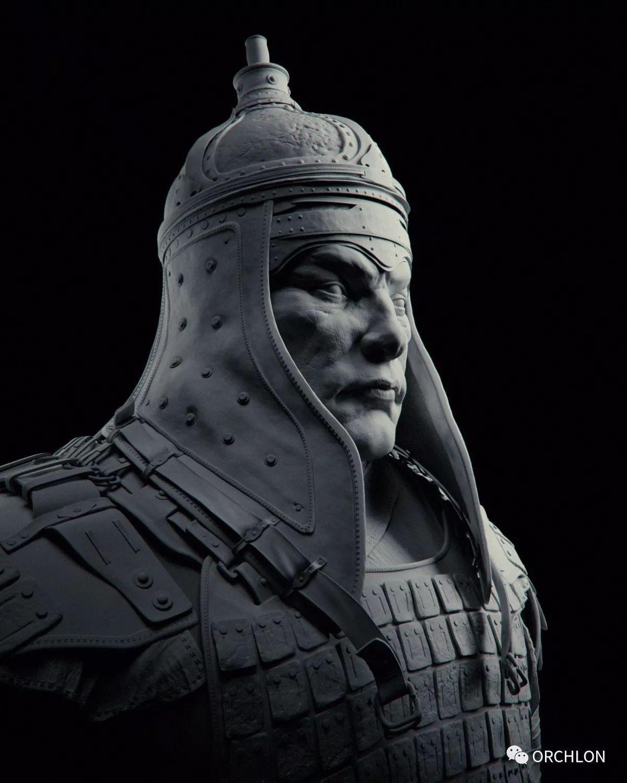 蒙古骑士盔甲3D模型|MONGOLIAN KNIGHT 第11张