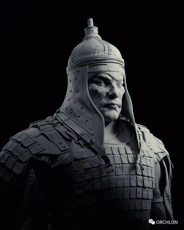 蒙古骑士盔甲3D模型|MONGOLIAN KNIGHT 第12张