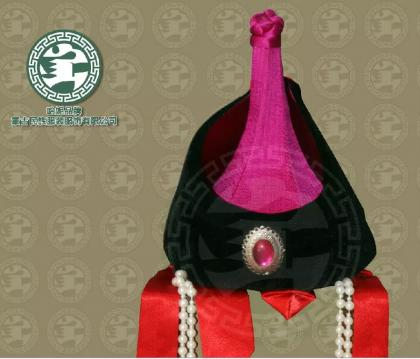 蒙古族帽子,好看吧 第6张