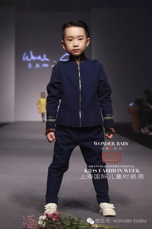 蒙古族孩子时装 第9张