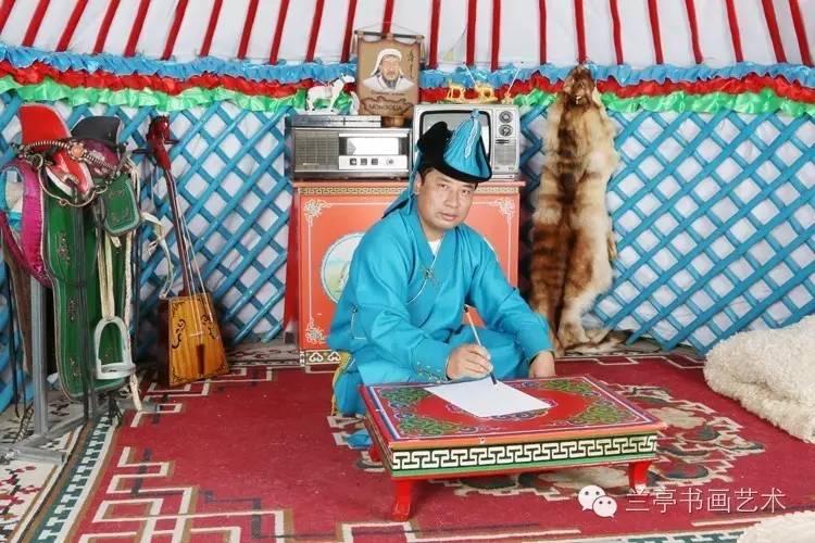 蒙古画家·宝力格 第1张