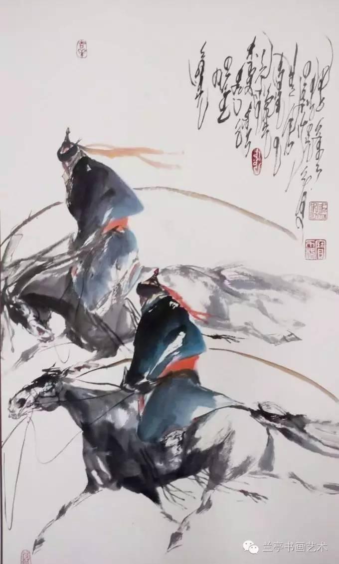 蒙古画家·宝力格 第3张